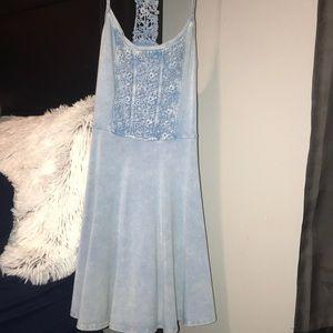 Abercrombie & Fit baby blue dress
